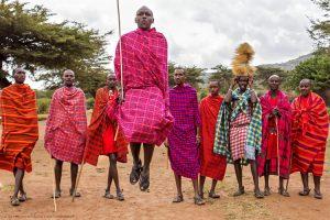 The Maasai Tribe People