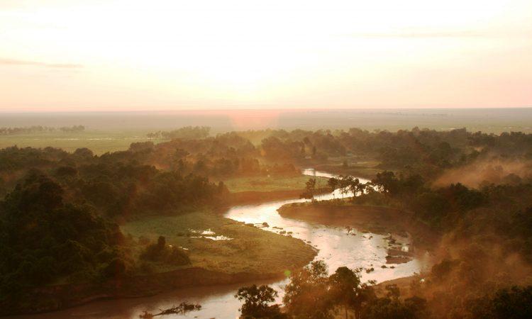 Rivers in Serengeti National Park